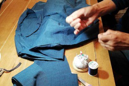 手縫いでつくる「リネンブラウス」ランチ付き教室